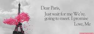 Dear Paris Just Wait For Me Cover