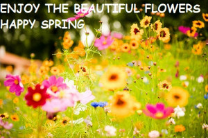 Enjoy the beautiful flowers! Happy Spring!