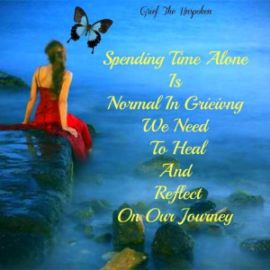 spending time alone