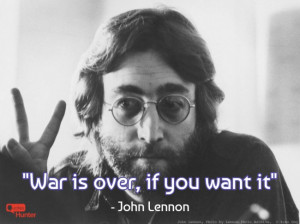 John Lennon – Hippie Peace Quote