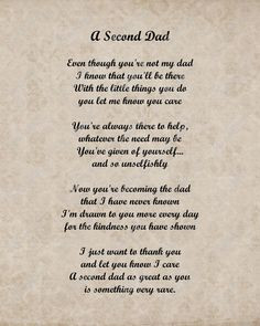 ... www.etsy.com/listing/118604074/a-second-dad-love-poem-for-stepdad-8-x