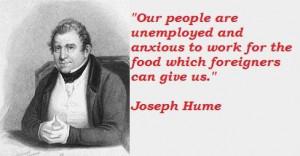 Joseph hume famous quotes 2