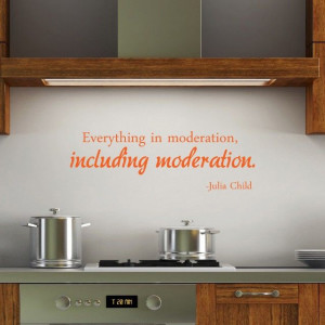 Everything in moderation - yep I'm with you on this one!