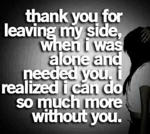 Sarcastic, quotes, sayings, broken love, break up