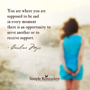 One of my favorite Caroline Myss quotes.