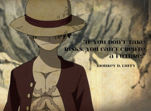 Luffy quote by lotteblue10