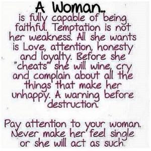 Woman Warning Quotes - HD Wallpaper