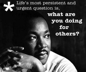 """... , but never lose infinite hope.""""- Dr.Martin Luther King Jr"""