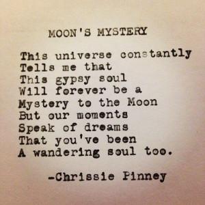 Gypsy wandering soul ...always