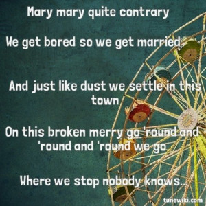 Merry go round- kasey musgraves?