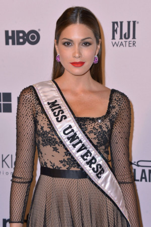 Gabriela Isler At The amfAR Inspiration Gala