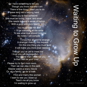 Poem from an Unborn Child to its Father | Sayings & Quotes