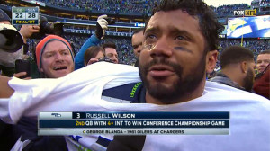 Seattle Seahawks Quarterback Russell Wilson's Message for Tea Party.