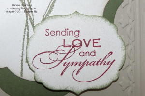 Sending Love And Sympathy ""