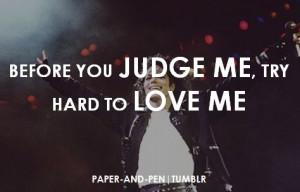 quote # swag # teen # michaeljackson # kingofpop # judge # love ...