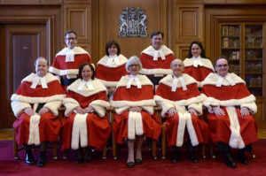 for Supreme Court of Canada Justice Suzanne Cote at the Supreme Court ...