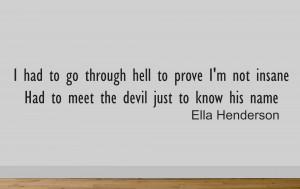 Ella Henderson Ghost Wall Sticker Measures 57cm Wide.