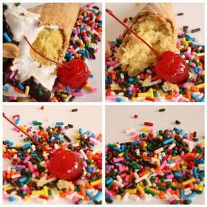 Scream, You Scream! Ice Cream Cone Cupcakes