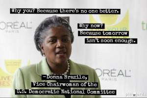 Donna Brazile attends the 'O, The Oprah Magazine' 10th anniversary ...
