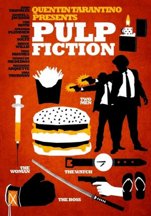Quentin Tarantino's Pulp Fiction.