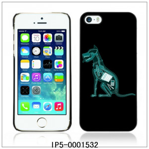 Funny Dog Ate Homework X-Ray -FOR iPhone 5 5S Plastic Hard Back Case ...