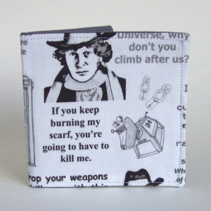Wallet Dr Who Tardis Dalek K9 Jelly Baby The Doctor No 4 Who Quotes