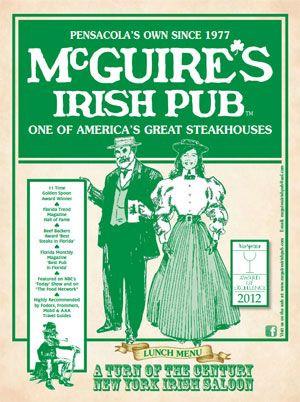 McGuires Irish Pub...Irish wake, I think so!!!