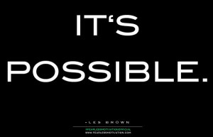les brown its possible