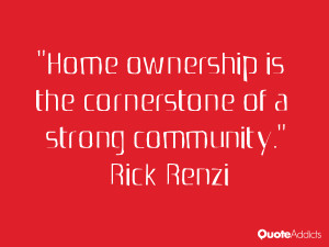 Home ownership is the cornerstone of a strong community.. #Wallpaper 3
