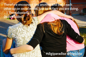 Encourage One Another And Build Each Other Up Bible Verse