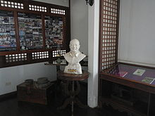 Sionil José Bust monument ( Rosales, Pangasinan Presidencia).