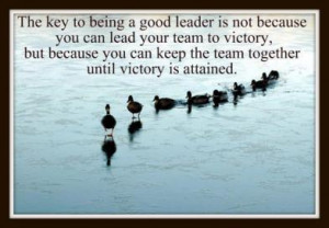 Quotes About Being Good Leader