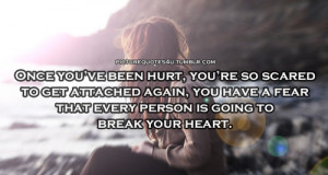 Scared Of Relationships Quotes