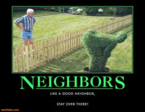 lazlo has a crappy neighbor here is a story about
