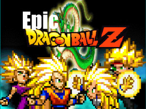 Epic Dragon Ball z title by masterdragon75