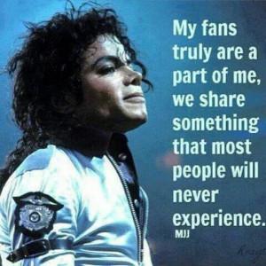 Michael Jackson Talks About His Fans