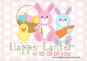 Happy Easter to all PLUS Some Yummy Chocolate Easter Egg Treats