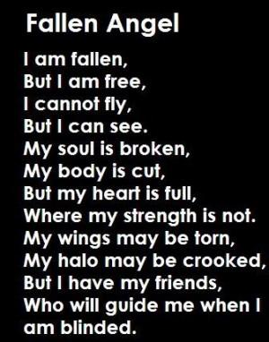 Angel this is totally meFree, Fallenangel, Broken Angel, Broken Wings ...