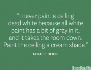 House Beaitful ceiling paint quote