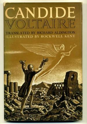 Voltaire Candide Voltaire, jean francois.