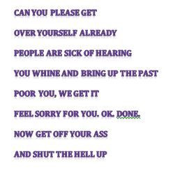 Get Over Yourself Quotes