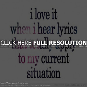... cute girlly qoutes cute girly quotes images cute music lyric quotes