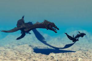 The Sea Serpent Raymondthornton Deviantart