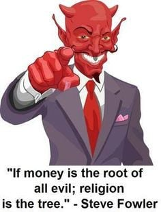 money root of all evil quote | ... but the actual quote is,