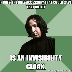 Sassy Snape | Harry Potter Meme | lmfao
