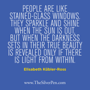 ... Picture Quotes About Life Tagged With: Elisabeth Kubler-Ross