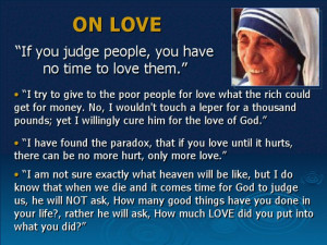 Soul Quotes : Mother Teresa