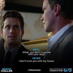 White Collar Golden Quotes!!