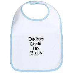 Daddy's Little Tax Break - Bib