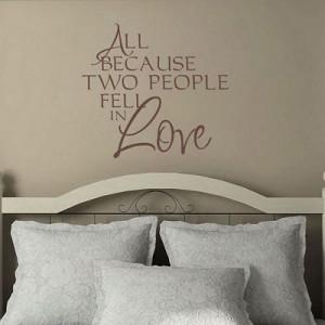 Fell In Love - Romantic Quote